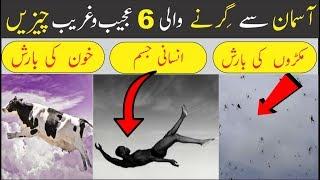 6 Strange Things Falling From The Sky    Urdu/Hindi