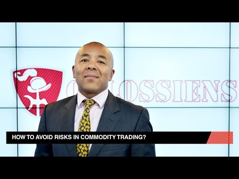 Risks in Commodity Trading