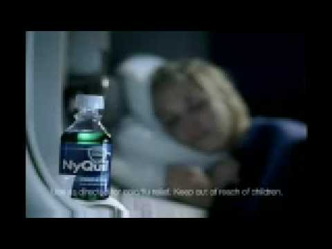 Redhead from nyquil commercial