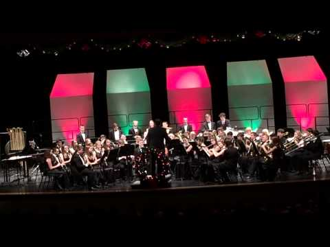 "Bethel Park High School Symphonic Band ""Sleigh Ride """