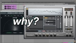 One of My Favorite Plugins . Convolution Reverb in iZotope Trash 2