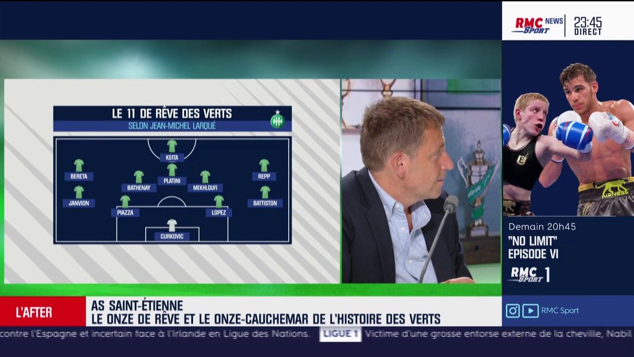 Le Capitaine Larqué nous fait son Equipe Type de l'AS Saint-Etienne