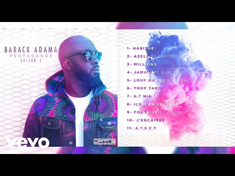 Barack Adama - Jamais (Audio) ft. Black M