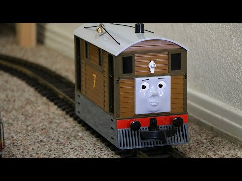 A Model Train Video with Toby Of Thomas & Friends