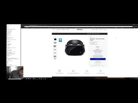 My Windows MIxed Reality Experience (Samsung Odyssey)