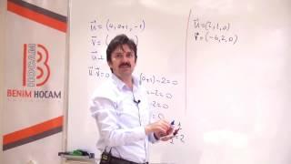 11) Uzayda Vektörler - I - ÖABT Matematik Dersi - Hakan Efe (2020)