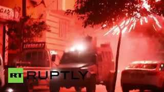 Turkey: Explosive clashes erupt between PKK supporters and police in Istanbul