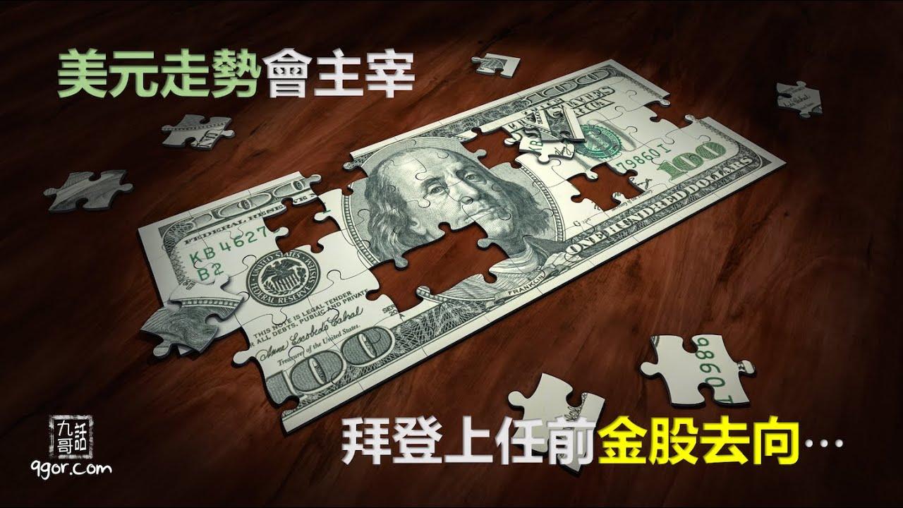 201206 九哥周報:美元走勢會主宰拜登上任前金股去向