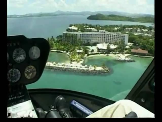 Martinique en hélicoptère avec www.heliblue.com