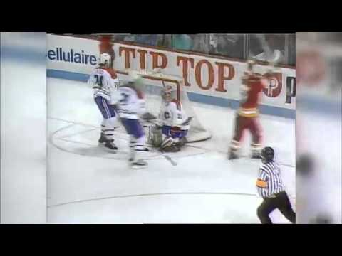 2014 15 Calgary Flames Home Opening 3d Ice Surface Pre