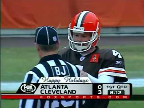 Atlanta Falcons vs Cleveland Browns 2002 WK 17