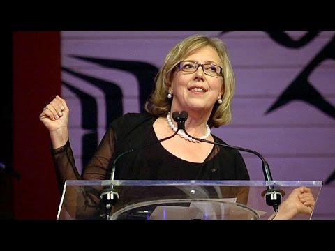 Elizabeth May Press Gallery speech. WARNING: GRAPHIC LANGUAGE