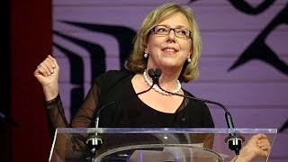 Elizabeth May Press Gallery speech. WARNING: GRAPHIC LANGUAGE