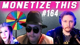 Monetize This ! #164 - Lebron Loses ! REAL WHEEL ! Halloween Trailer & Party