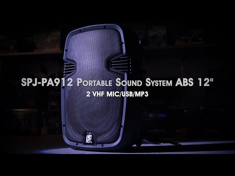 SKYTEC SPJ-PA912 Portable Sound System ABS 12
