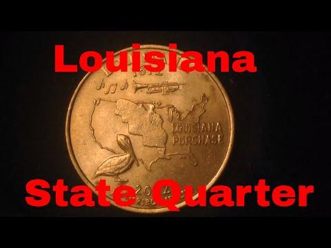 2002 State Quarter: Louisiana