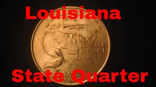 2002 State Quarter: Louisiana