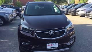 2018 Buick Encore AWD Premium Sunroof Navigation Cherry Oshawa ON Stock #181283