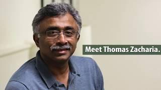Meet ORNL Director Thomas Zacharia