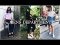 HOW TO style a MENS shirt | CROP TOP T Sports luxe trend for less!