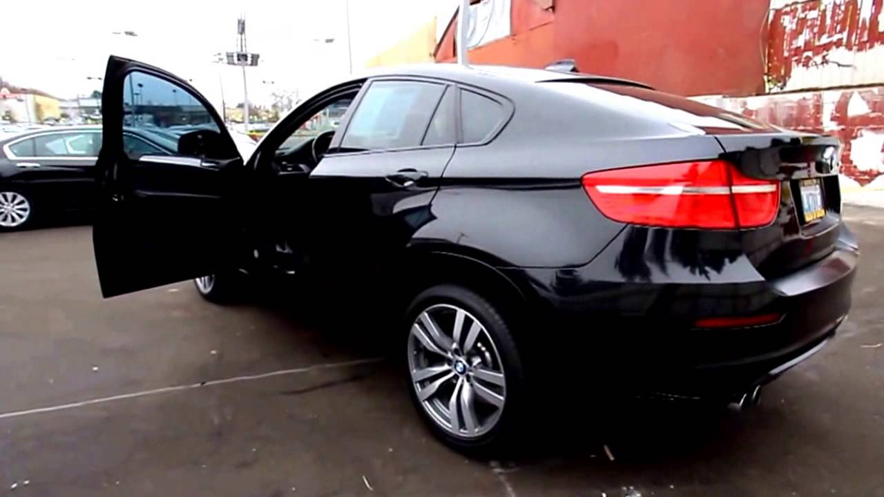 2015 BMW X6 M Black Car