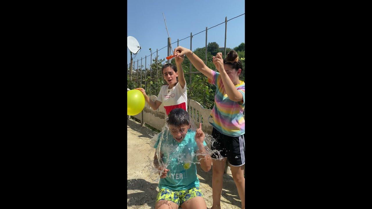 Guess the Balloons Challenge with Guka Nastya and Maria #shorts