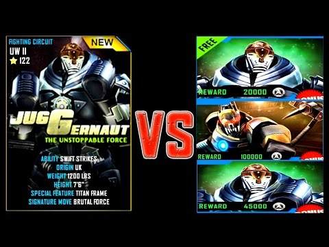 Real Steel WRB JUGGERNAUT VS DAY OF THE SCORPION ROBOTS Series Fights NEW ROBOT (Живая Сталь)