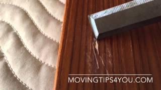 How To Repair A Scratch In Veneer Or Laminate Furniture