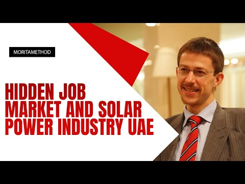 Hidden Job Market and Solar Power Industry UAE