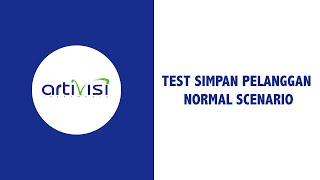 08. Test Simpan Pelanggan - Normal Scenario