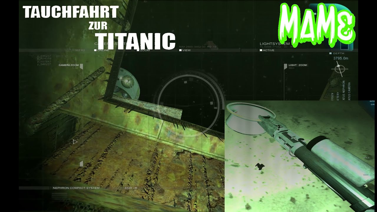 titanic tauchfahrt simulator