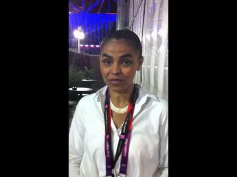 Marina Silva nas Olimpíadas de Londres