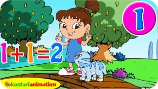 Video Aku Bisa Belajar Berhitung bersama Lala 1 HD |  Kastari Animation Official download MP3, 3GP, MP4, WEBM, AVI, FLV September 2018
