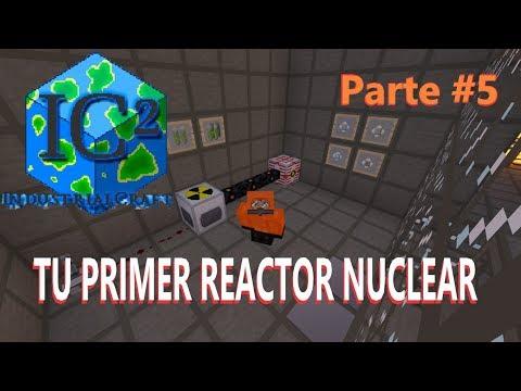 INDUSTRIAL CRAFT 2 1.12.2 | TUTORIAL #5: CREA TU PRIMER REACTOR NUCLEAR | MINECRAFT MOD
