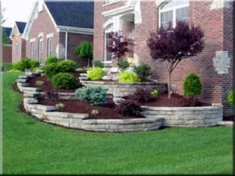 Landscaping ideas for front yards - YouTube