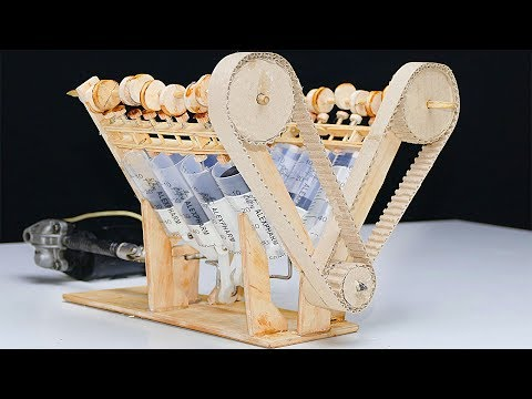How It Works? V8 Engine Model - DIY At Home