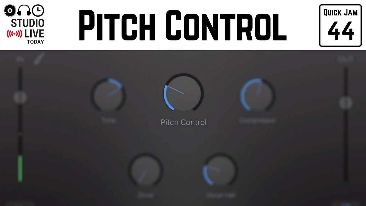 Pitch Control in GarageBand iOS (iPhone/iPad) – Quick Jam #44