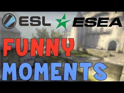 "CS:GO - Funny ""ESL ESEA League "" Moments! (PoV&More!)"