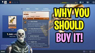 "How To Get The ""HYDRA"" In Fortnite Save The World! - Best ASSAULT RIFLE! + ""FREE"" V-Bucks!"