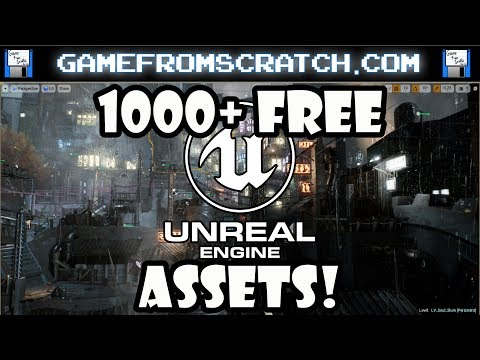 1000+ Free Assets for Unreal Engine Released