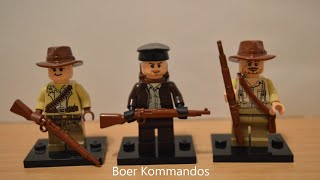 Lego Boer Wars: Custom Minifigure Showcase