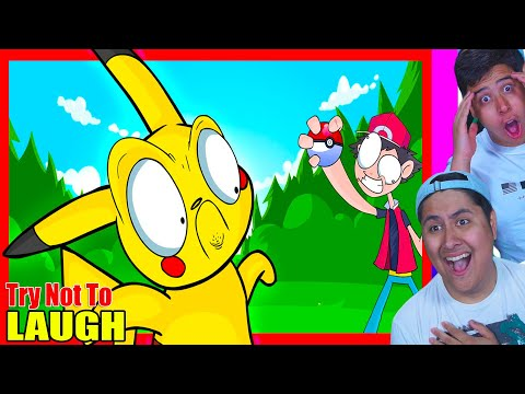 Try Not To Laugh! Pokemon Parody Edition 11