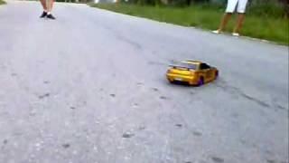 Rc Nissan Skyline GTR R34 -Nikko-  Drifting