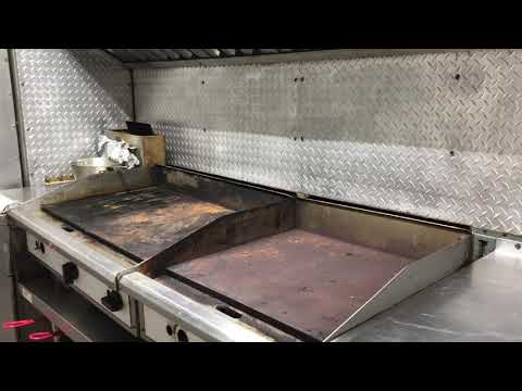 Cleaning and Restoring Neglected Flat Top Commercial Grills