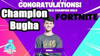 Bugha wins 3 million and the Fortnite World Cup