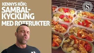 Sambalkyckling med rotfrukter | KENNYS KÖK