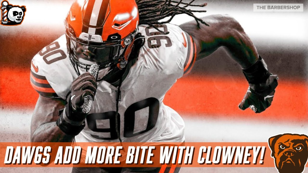 Browns banking on dominant Jadeveon Clowney, Myles Garrett ...