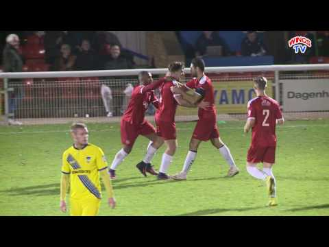 WingsTV AFC Wimbledon on loan striker George Oakley scores winner at Concord in FA Trophy