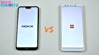 Nokia 6.1 Plus vs Mi A2 Speed Test and Camera Compare