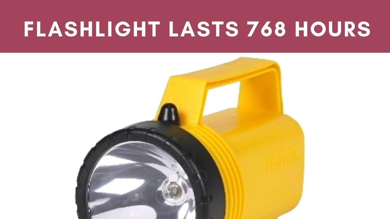 700 Hour Flashlight Youtube